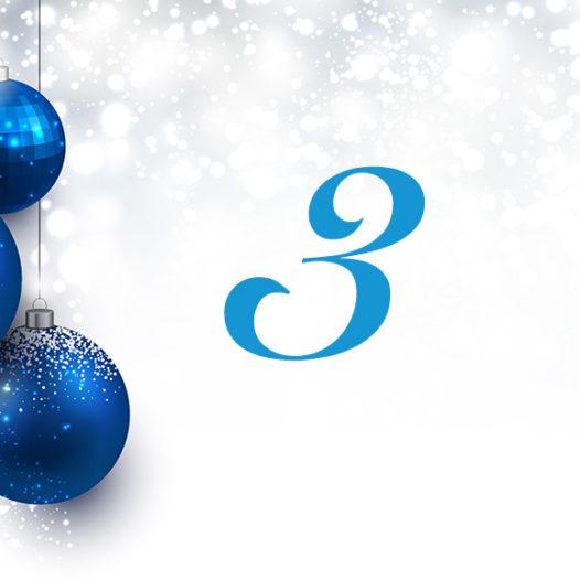 Julkalender 3 december 2016