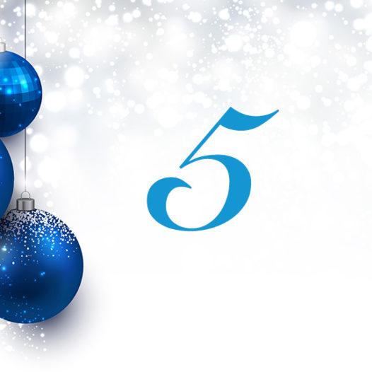 Julkalender 5 december 2016